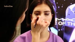 Уроки макияжа M.A.C. - тенденции в вечернем макияже