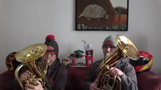 Weihnachtsgruß - Alle Jahre wieder - Zonko&Daniel spielen auf