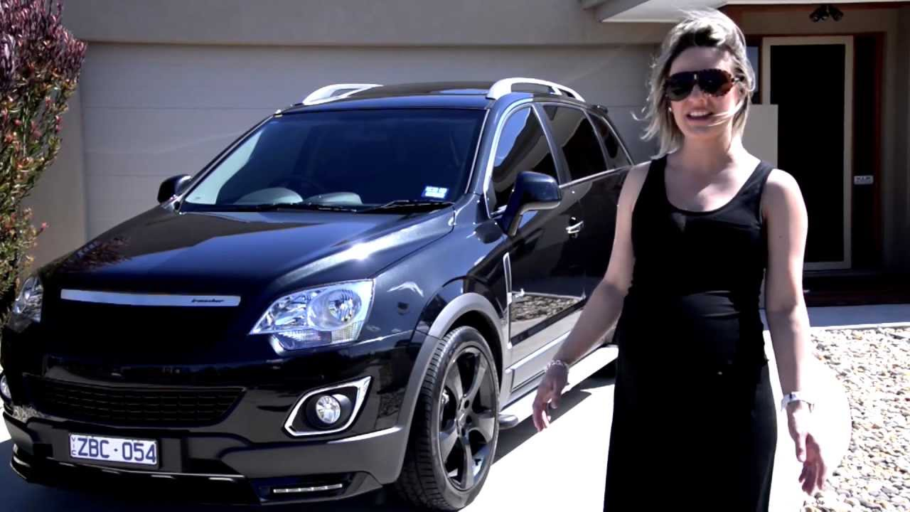 Chevy Performance Parts >> Walkinshaw Performance- Dijana's Captiva 5. - YouTube
