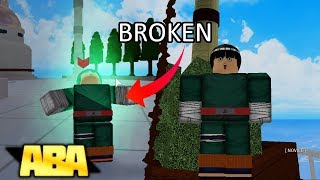 Rock Lee is BROKEN in Anime Battle Arena! | Roblox