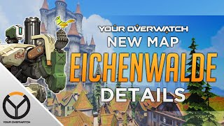 Overwatch New Map Revealed! Eichenwalde! Dead Reinhardt?