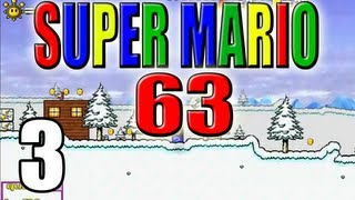 Super Mario 63 - Let's Play Super Mario 63 [German/100%] Part 3: Snowman's Land
