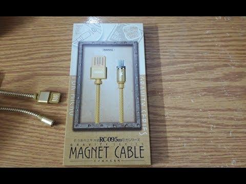 كابل ريماكس المغناطيسي +  Remax Magnetic Cable Rc-095 M