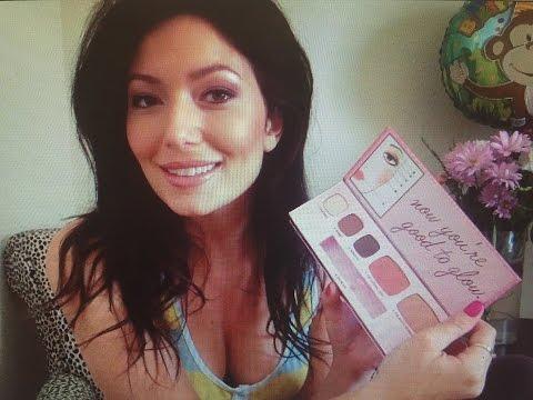 Glowing Skin, Eyeshadow, Blush Tutorial Bare Minerals!! Bronze Look!