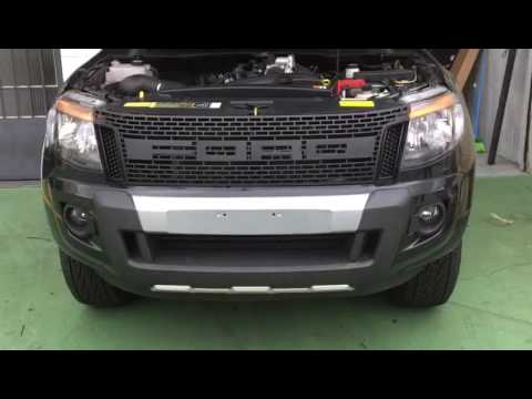 Instala 231 227 O Grade Ford Ranger 2015 Modelo Raptor Youtube