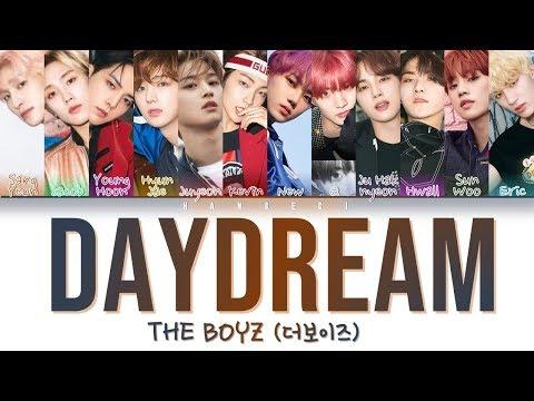 THE BOYZ (더보이즈) - 'Daydream' (Color Coded Lyrics Eng/Rom/Han/가사)