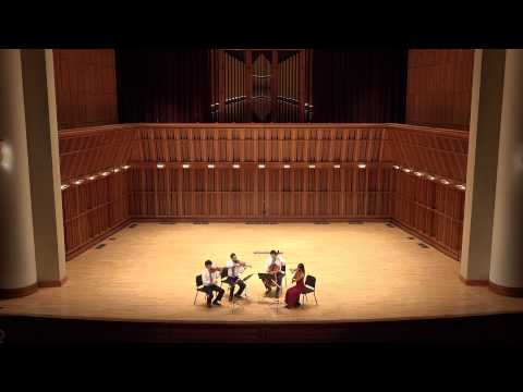 Telegraph Quartet - Sursa Hall - Mendelssohn Quartet Op. 44 No. 1