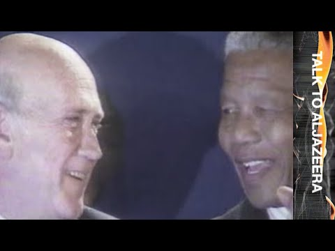 De Klerk: ANC split would be 'healthy' for South Africa -Talk to Al Jazeera