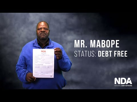 National Debt Advisors' Debt Free Client