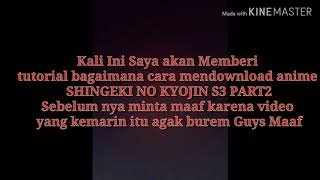 Cara Mendownload Anime Shingeki No Kyojin S3 Part 2 di Anoboy.org