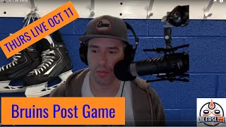 OILERSLIVE Live Radio POST Bruins vs Oilers Game Oct 11, 2018