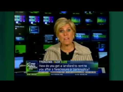 Your Credit & Renting a Home After Bankruptcy? | Suze Orman