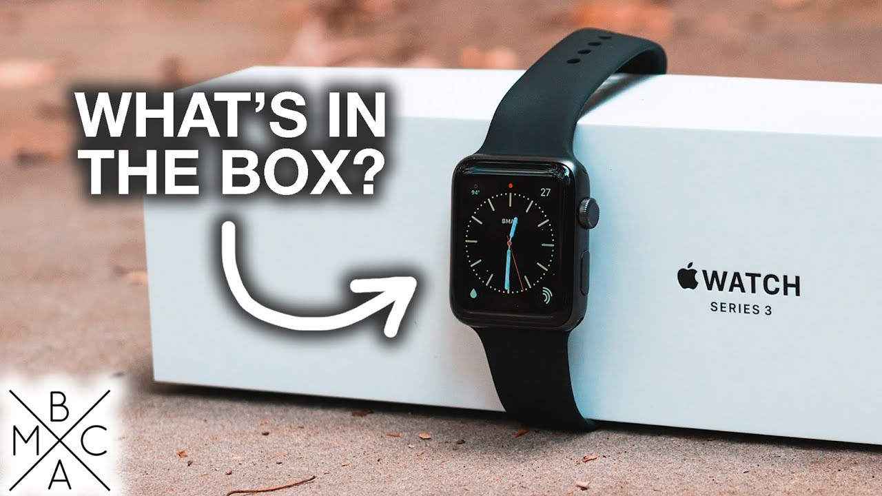 Apple Watch Series 3 Unboxing Quick Set Up Comparison Youtube