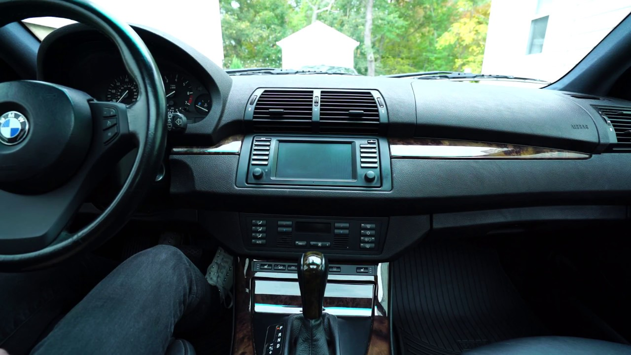 bmw factory auxiliary audio input kit installation with navigation e39 e46 e53 [ 1280 x 720 Pixel ]