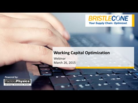 Webinar - Working Capital Optimization
