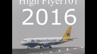 2016 Plane highlights