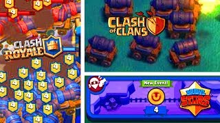 CLASH ROYALE, CLASH OF CLANS ou BRAWL STARS ? Supercell Games [FarsAttack]