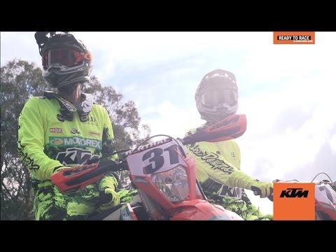 KTM ENDURO TEAM PREPARE FOR THE 2017 AUSTRALIAN OFF ROAD SEASON - READY TO RACE