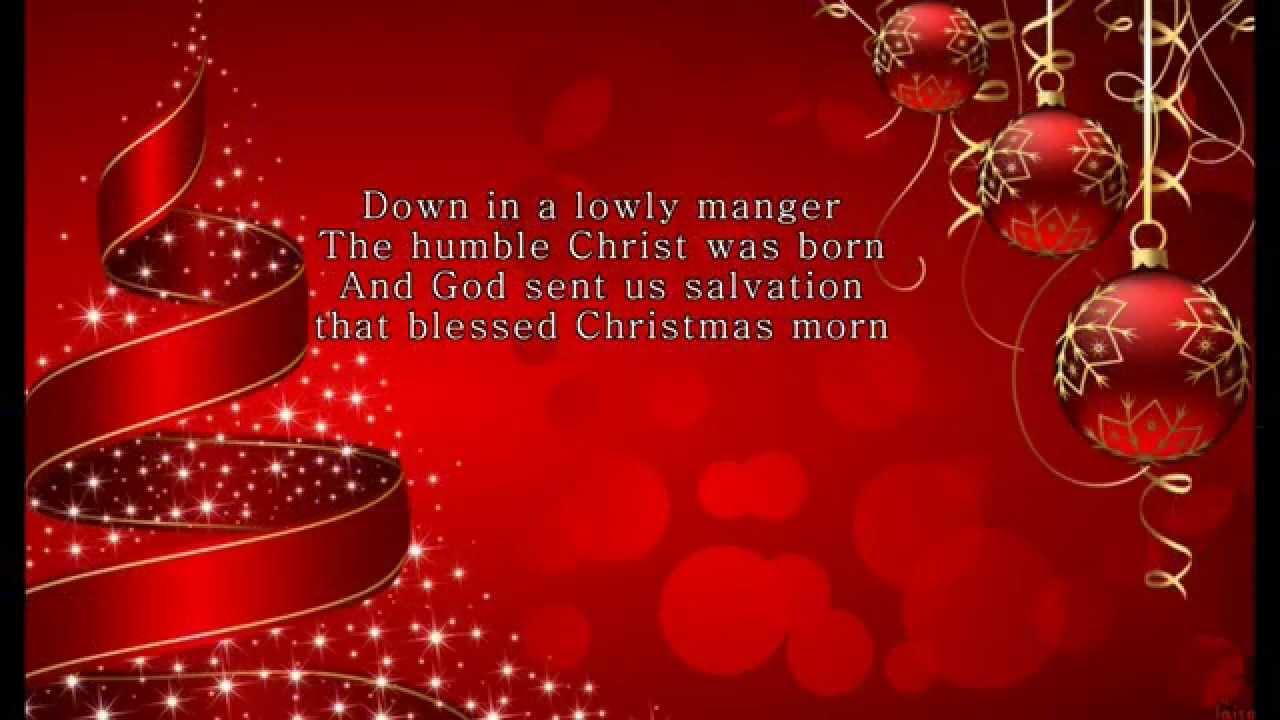 Christmas Carol- Go Tell it on The Mountain Lyrics HD - YouTube