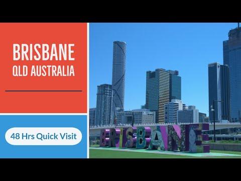Brisbane Queensland Australia 4K