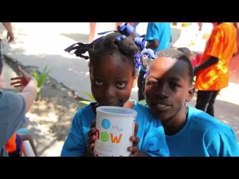Playing & Painting - Reliv Kalogris Foundation See the Change Trip to Haiti