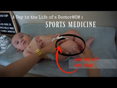 A Day in the Life of A DoctorMOM | Sports Medicine
