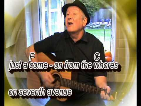 The Boxer - Simon and Garfunkel -- cover - easy chords guitar lesson with on-screen chords & lyrics