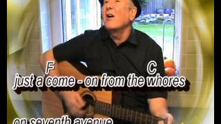 The Boxer - Simon And Garfunkel -- Cover With On-screen Chords & Lyrics