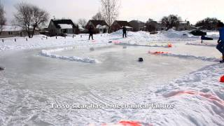RC Ice Rally Race #3 Tamiya XV01 and DF03ra HD