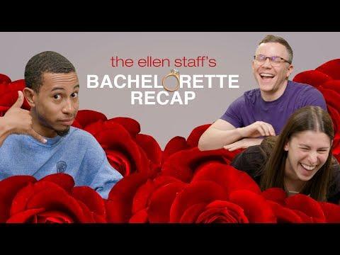 Ellen's Staff and Kalen Allen's Week 5 'Bachelorette' Recap Heats Up