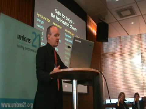 Ian Pearson at the Unions 2020 Conference