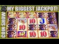 🤯 MASSIVE JACKPOT 🤯 INSANE AMOUNT OF RETRIGGER MY BIGGEST WIN ON BUFFALO GOLD Seullos Meosin 슬롯머신