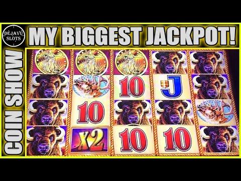 🤯 MASSIVE JACKPOT 🤯 INSANE AMOUNT OF RETRIGGER MY BIGGEST WIN ON BUFFALO GOLD Seullos Meosin 슬롯머신