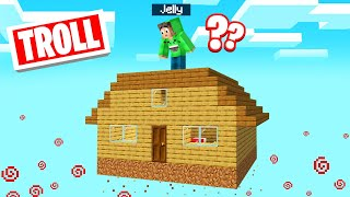 I Got TROLLED Using WORLD EDIT In MINECRAFT! (Floating House)