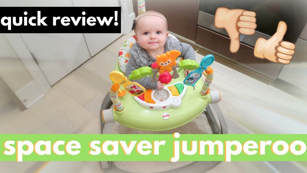 3dc1b8b32 Fisher Price Space Saver Jumperoo Review + Unboxing   Assembly ...