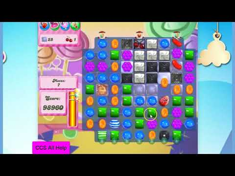 Candy Crush Saga Level 2754 NO BOOSTERS Cookie