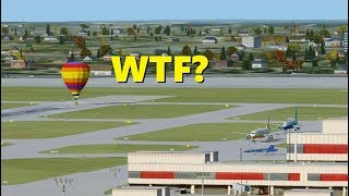 Average Day as Air Traffic Controller in Flight Simulator X (Multiplayer)