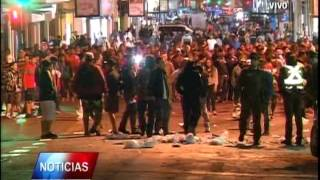 Incidentes en Antofagasta tras partido Chile-Colombia