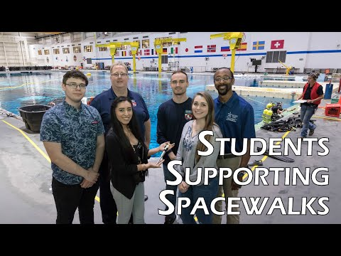 Students Supporting Spacewalks