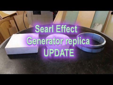 Searl Effect Generator replica UPDATE