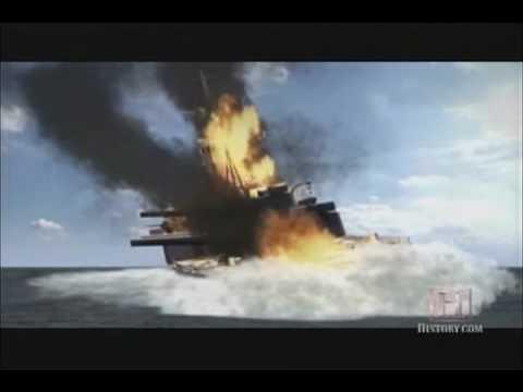 World War 2 History: Destroyer USS Johnston Attacks Battleships and