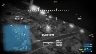 Battlefield 3 PC 2011 - Attack Helicopter + TV Missile Gameplay 1 [HD]