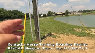 Kentucky Horse Cattle Farm for sale. Training Boarding Breeding Equestrian Facility