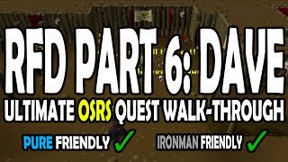 [OSRS] Recipe for Disaster Quest Guide: Part 6 - Freeing Evil Dave