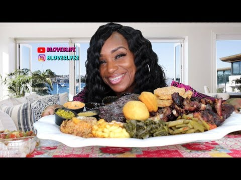 SmoQ BBQ & Soul food Mukbang