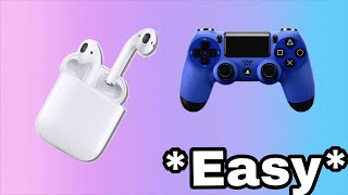 HOW TO CONNECT APPLE AIRPODS TO PS4 AND XBOX..Working as of 2019!
