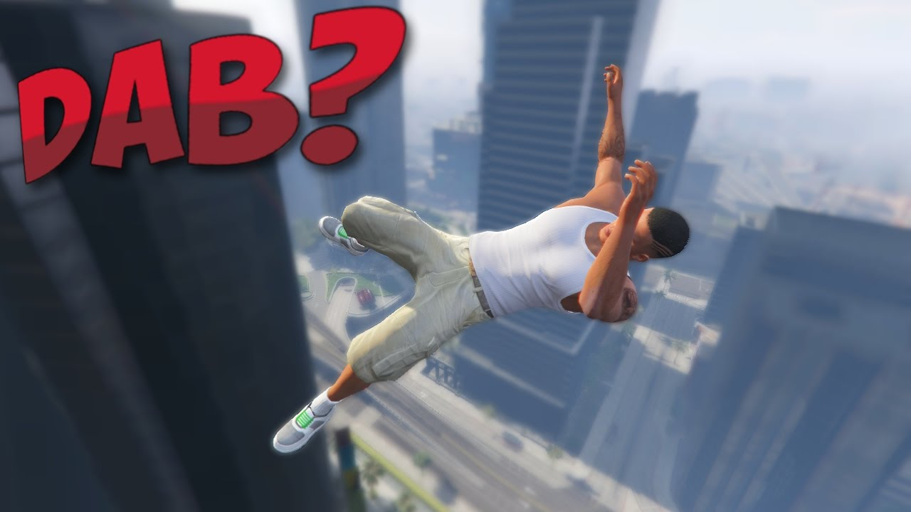 Gta 5 Doing The Dab Funny Moments Youtube