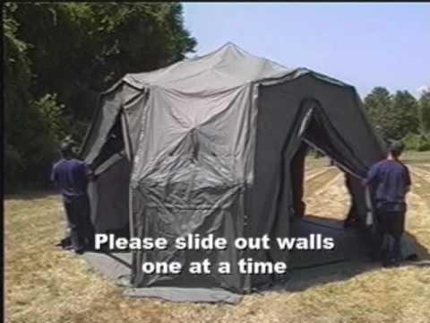 & DRASH Medium Shelter Deployment - YouTube