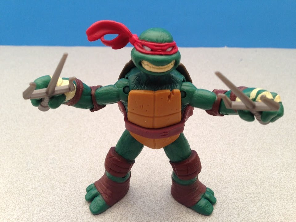 Tmnt Raphael Nickelodeon Action Figure Toy Review Youtube
