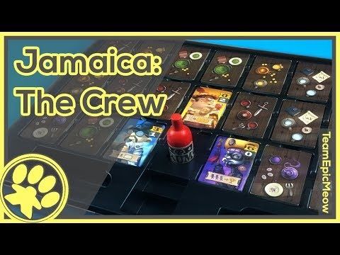 Jamaica the Crew Expansion Game Play [3Player]
